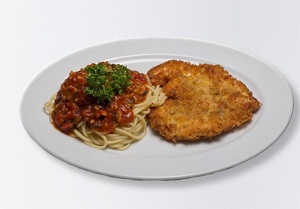 i-Rovers Sport Bar Chicken Spaghetti