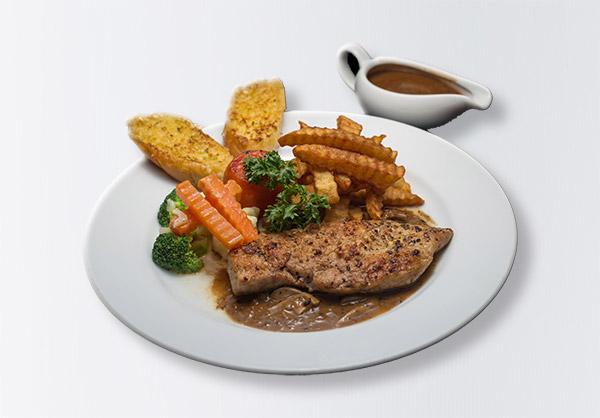 i-Rovers Sport Chicken Steak Mushroom