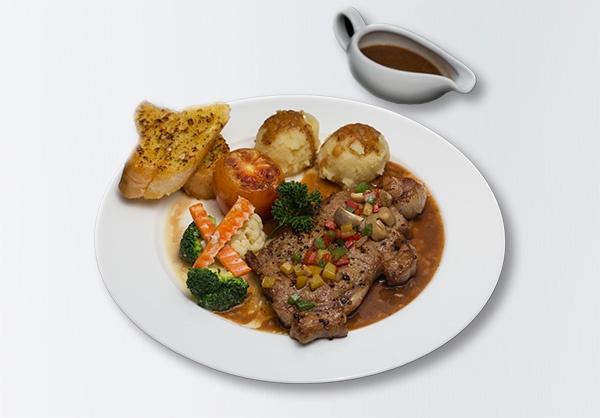 i-Rovers Sport Bar Serloin Steak